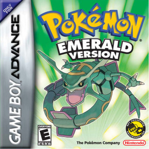 Pokemon Emerald English Boxart