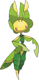 Leavanny, the Nurturing Pokémon.