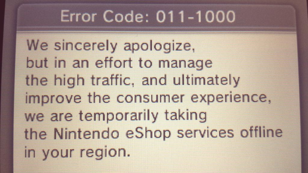 nintendo 3ds error code
