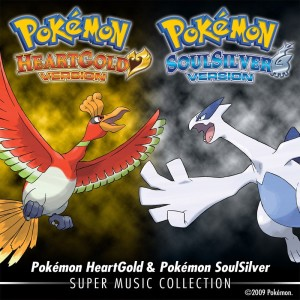 Pokémon HeartGold and SoulSilver Super Music Collection artwork