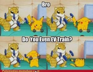 pokemon-ev-training-sandshrew-pikachu-cheezburger