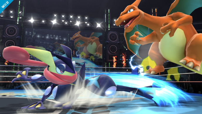 Nintendo's Super Smash Bros. Greninja vs Charizard