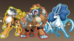 Legendary Beasts: Raikou, Entei and Suicune